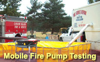 Link to the Fire Service Repair's Mobile Fire Pump Testing page.