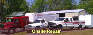 Link to Fire Service Repair's Training Class Information page.